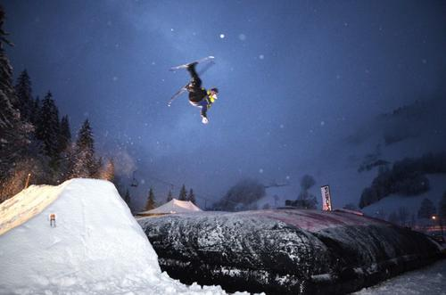 Big air bag Morzine