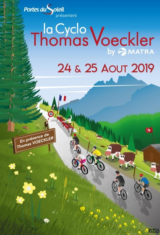 Cyclo Thomas Voeckler Morzine